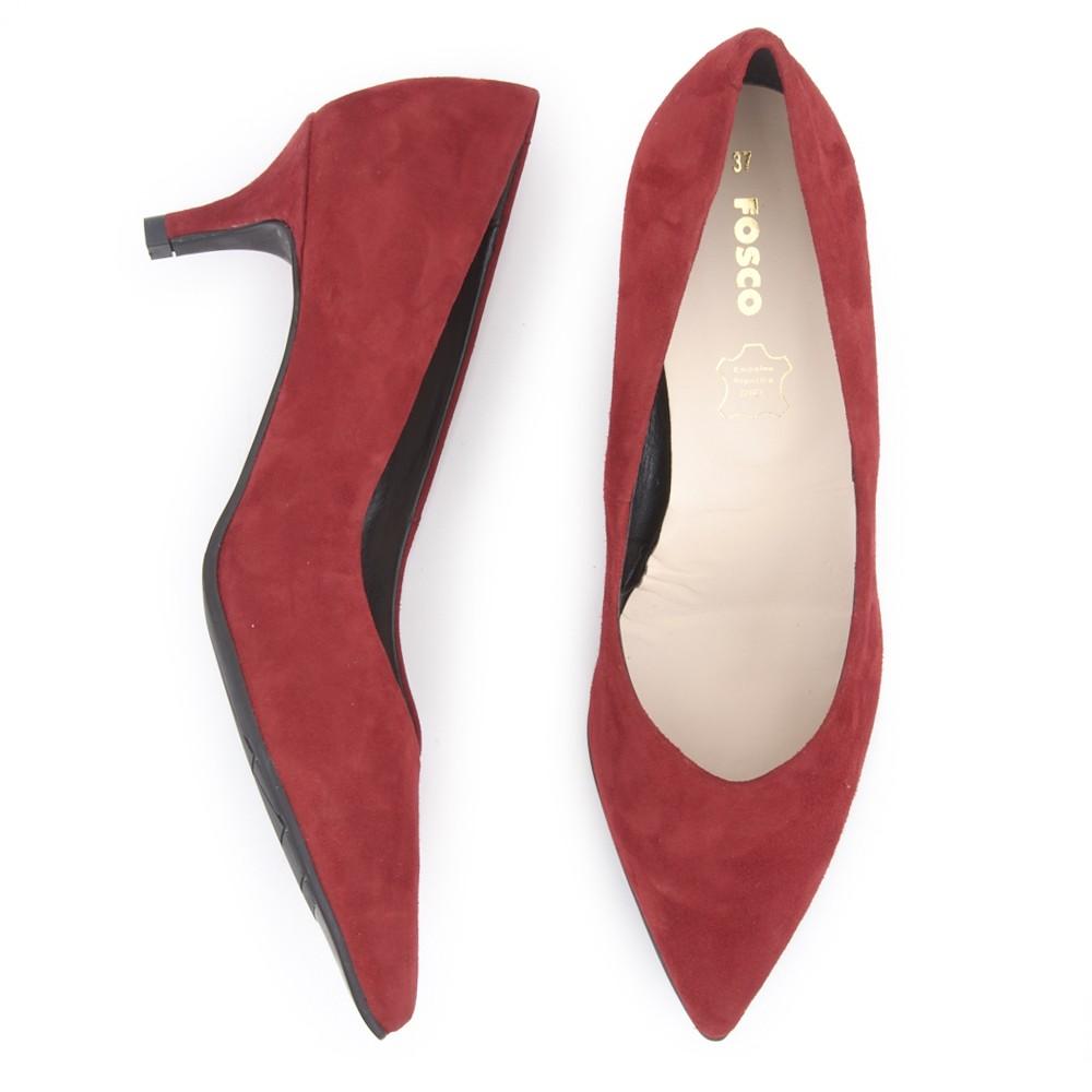 Zapato salón de piel de FOSCO.