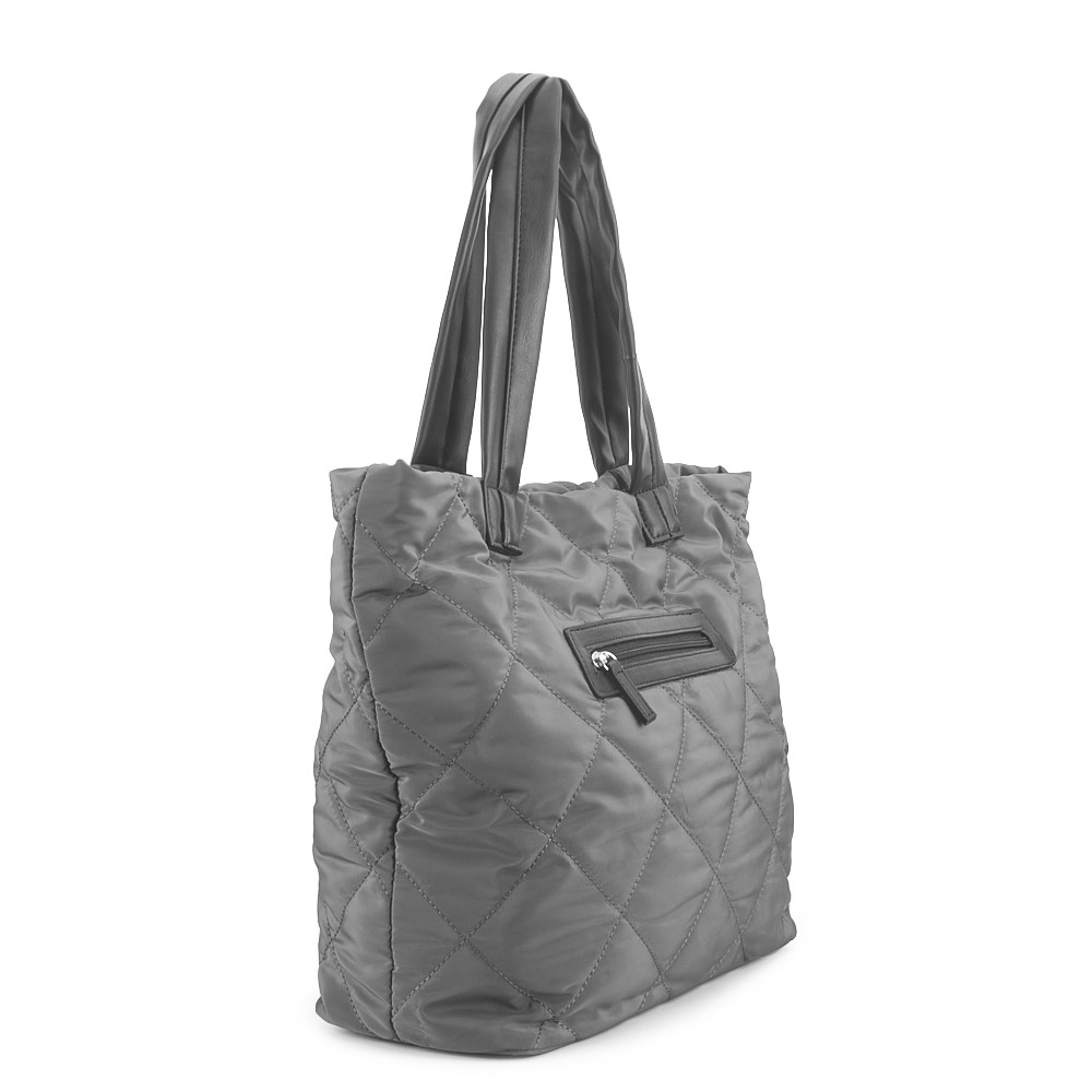 Bolso shopper acolchado NYC.