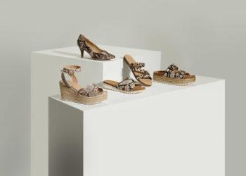 calzado de estampado serpiente