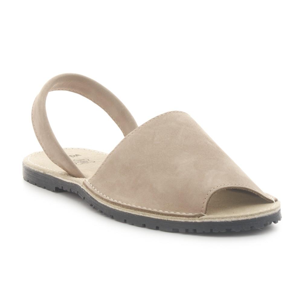 Sandalia menorquina de piel SENDA ROAD. 25,99€