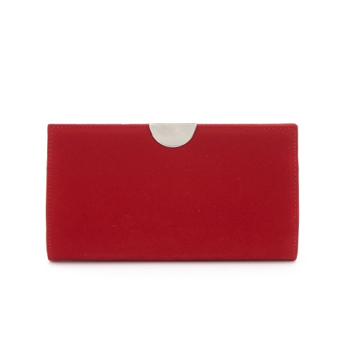 Bolso rojo terciopelo