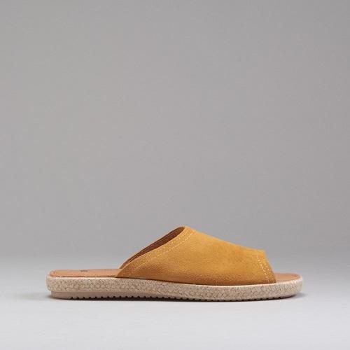 Sandalias de piel planas de Senda Road