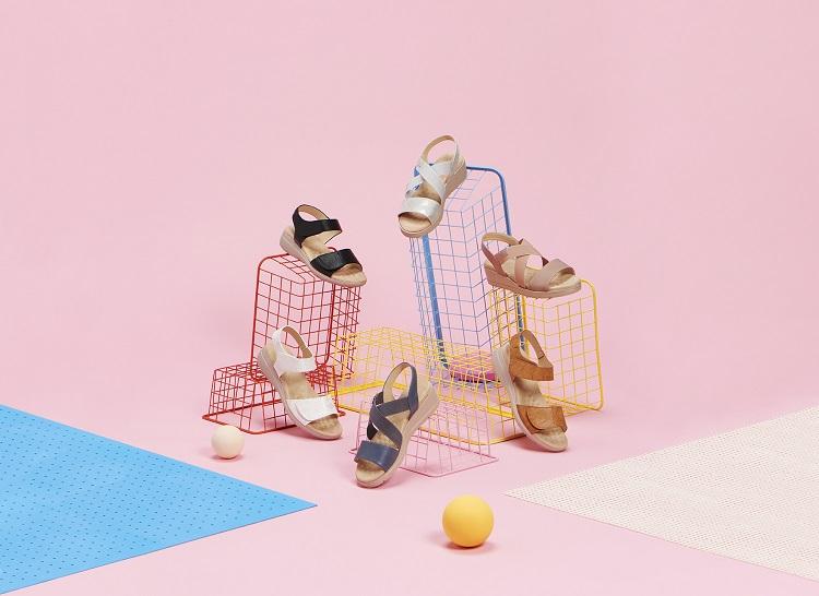 Sandalias cómodas para mujer en diversos colores