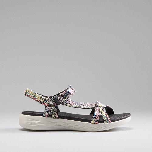 sandalias de sport iridiscentes de Skechers