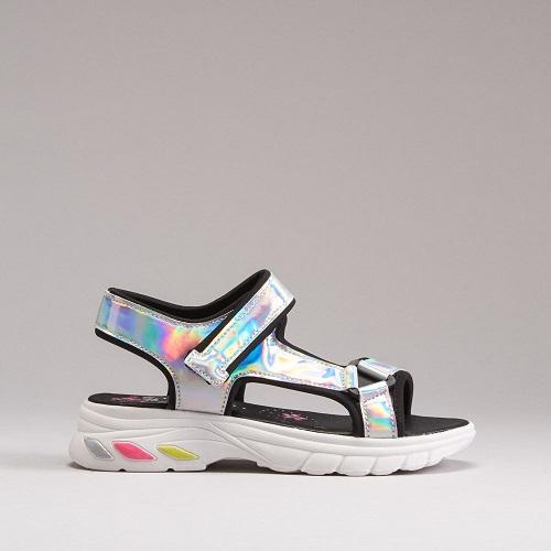 Sandalias de sport iridiscentes de Oh Girl