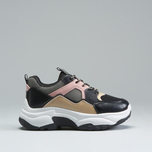 Chunky sneaker tricolor NYC
