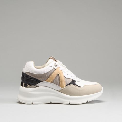 Sneaker cuña onda MUSTANG