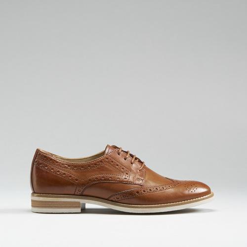 Zapato blucher combinado piel FOSCO