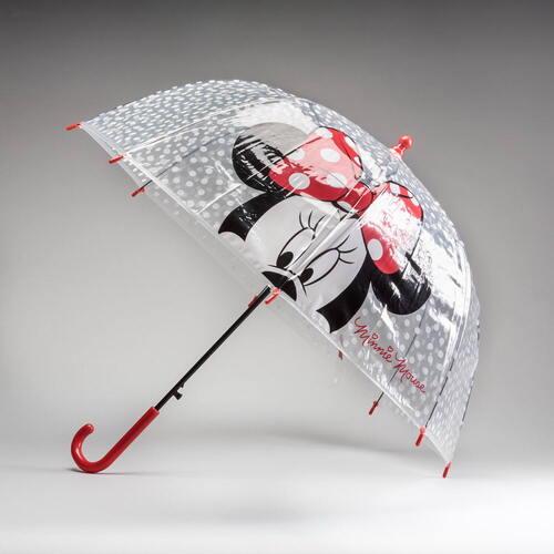 Paraguas transparente MINNIE