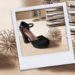 Zapatos de fiesta para una Navidad en casa