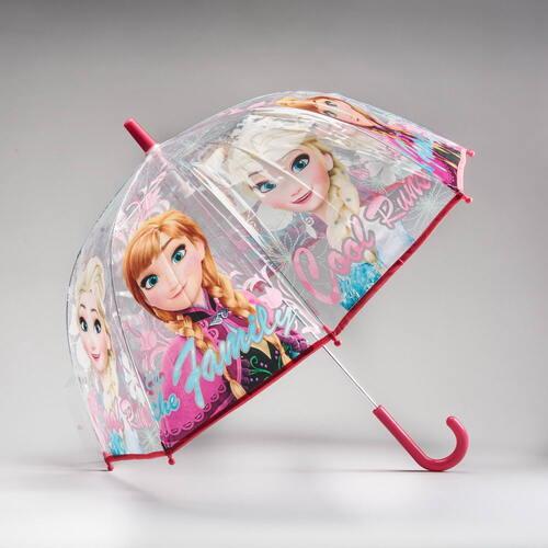 Paraguas transparente FROZEN
