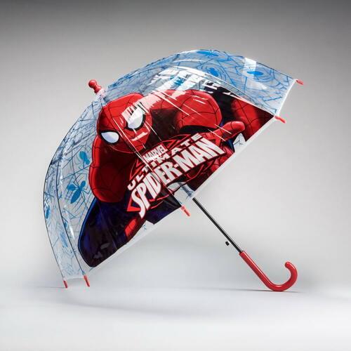 Paraguas transparente SPIDERMAN