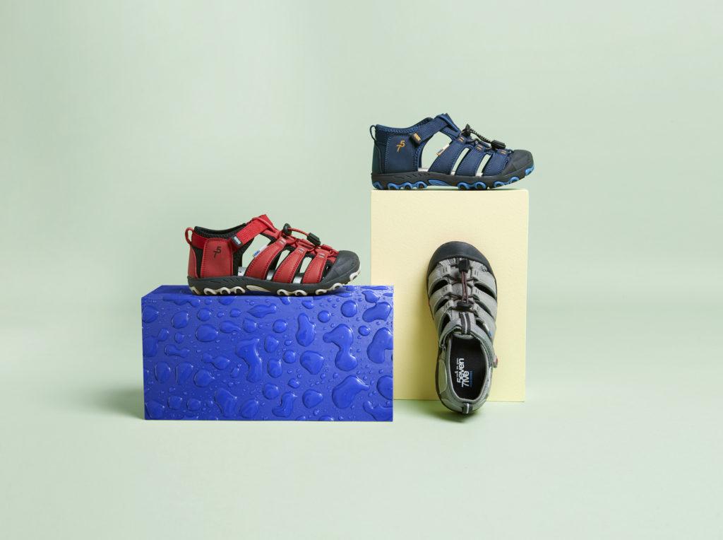 sandalias de ante niño
