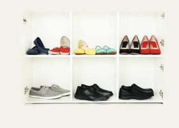 Ordenar zapatos metodo Marie-Kondo